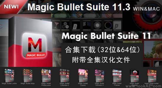 Red Giant Magic Bullet Suite11.3 (32&64Bit)附带汉化插图