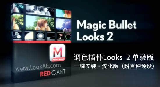 Looks 2.0 中文单装版(64位)一键安装-附百种预设