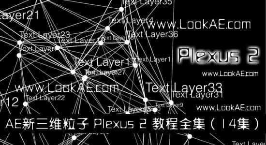 AE新三维粒子 Plexus 2 教程全集(共14集)插图