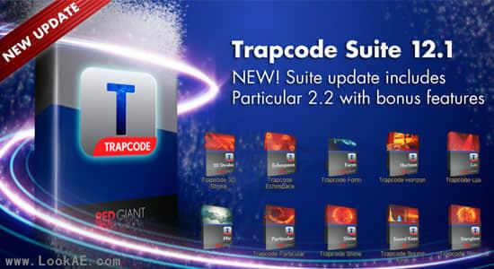 AE粒子特效套装插件 Red Giant Trapcode Suite 12.1.6(Win/Mac)插图