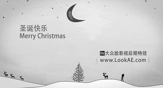 AE模板:圣诞快乐-Merry Christmas插图