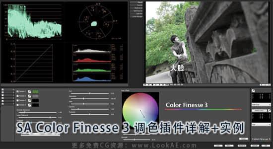 SA Color Finesse 3 调色插件详解+实例