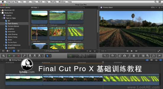 Lynda-Final Cut Pro X 基础训练教程_Essential Training插图