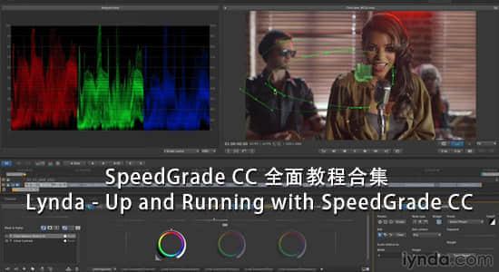Lynda – Up and Running with SpeedGrade CC 调色软件全面教程合集