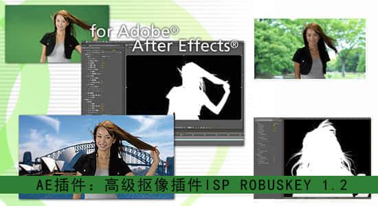 AE插件:高级抠像插件 ISP ROBUSKEY 1.2(Win32/64位)