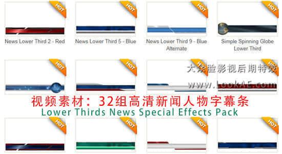 Lower Thirds News