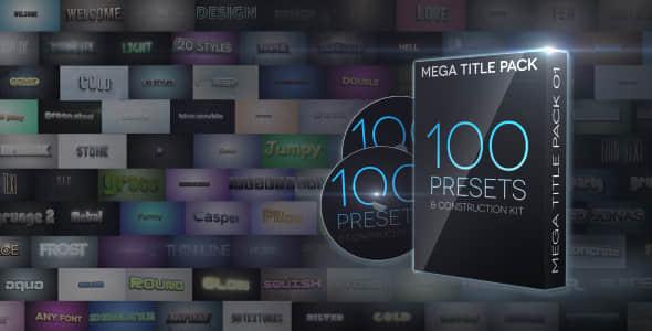 Mega Title Pack 01