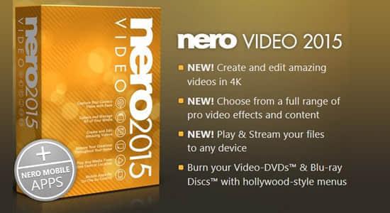 专业碟片烧录/刻录软件 Nero Video 2015 v16.0.01500(多国语言/中文)