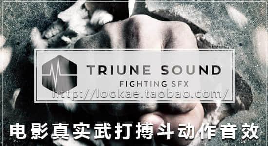 电影真实武打搏斗动作音效合集 Triune Sound- Fighting SFX Pack