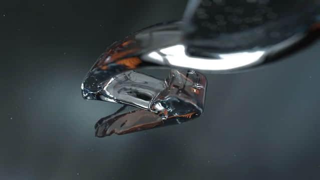 视频教程C4D与Realflow制作3D水花流体LOGO演绎