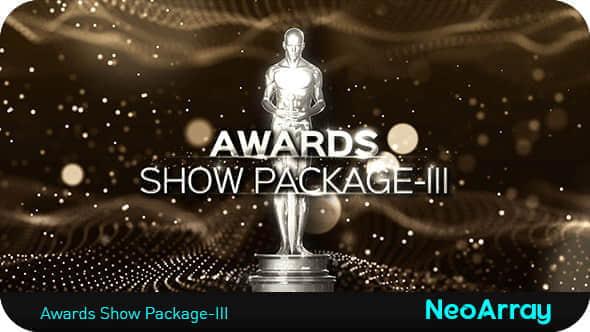 AE模版:第三季小金人奥斯卡颁奖典礼栏目包装