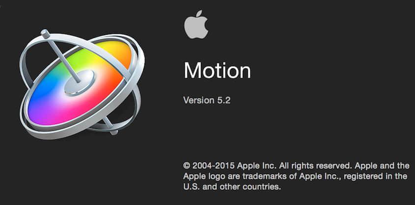 更新:苹果视频编辑软件 Motion 5.2(多国语言-含中文)