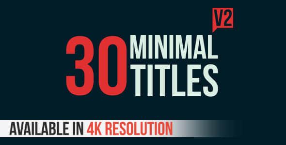Titles 30