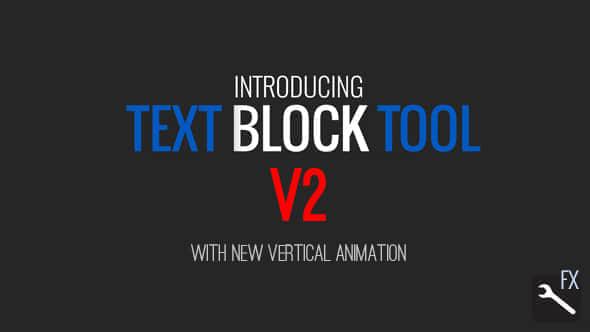 Text Block Tool