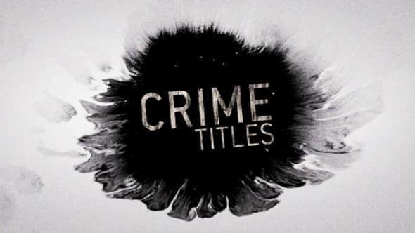 Crime Titles