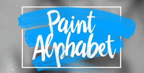 Paint Alphabet