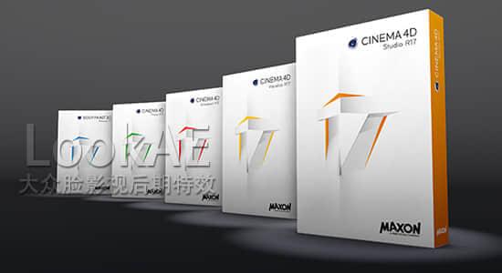 Win/Mac版本:CINEMA 4D R17 软件正式完整版下载 C4D R17 含注册机/注册码