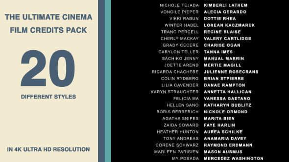 20 Cinematic