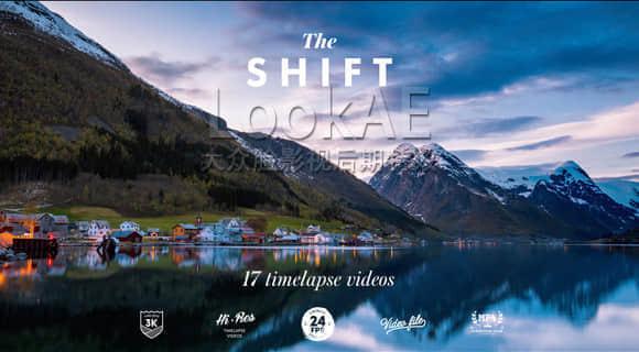 视频素材:17组3K电影级自然风景城市建筑延时素材 The Shift – timelapse videos