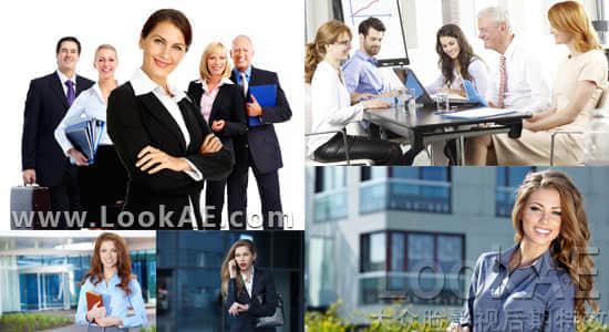 图片素材:32组5K高清公司企业商务办公职场人物图 LookAE – Corporate Photo