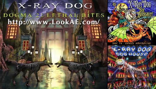 X-ray Dog Music 镭射狗震撼史诗大气专题片配乐素材 01-74,75,76 合集