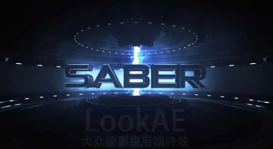 AK发布新AE插件:能量激光描边光束光效插件 Video Copilot SABER