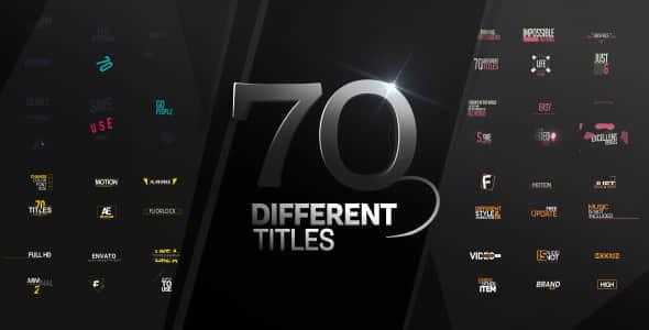 70 Titles