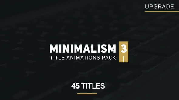 Minimalism 3