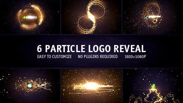 Particle Logo  6