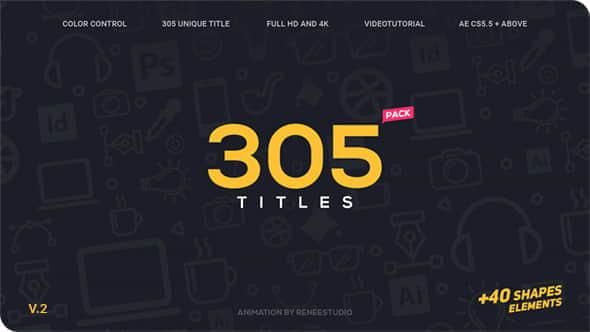 305 Titles