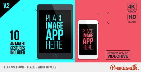 Flat App Promo
