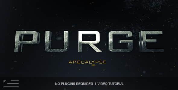 Purge Trailer