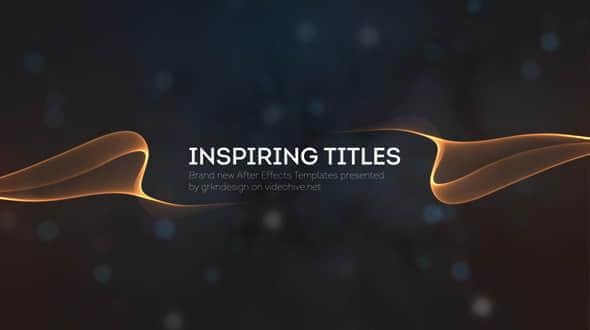 Inspiring Titles