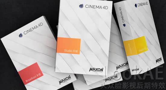 Win/Mac版:C4D R18 三维软件 Cinema 4D C4D R18 正式完整版 + 中文/英文注册机破解版