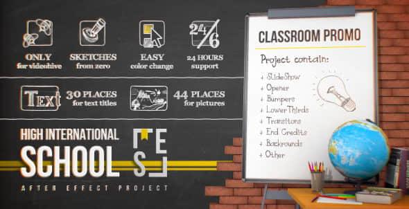 School Classroom Promo