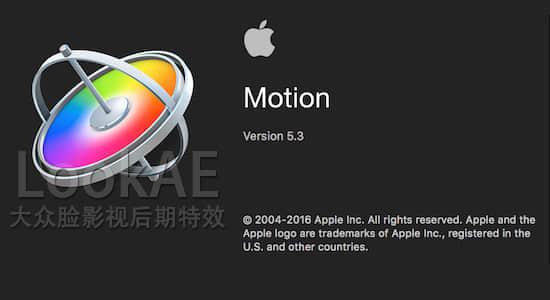 苹果视频编辑软件 Motion 5.3(多国语言/含中文版)免费下载