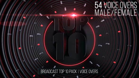 Broadcast Top 10