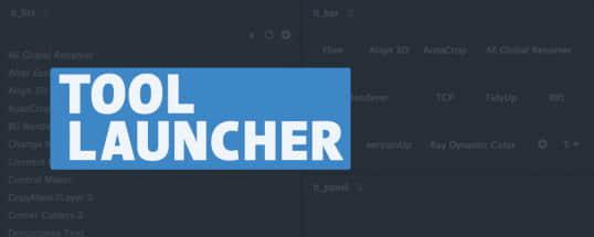 AE脚本:搜索调用管理插件表达式工具 Aescripts Tool Launcher v1.3.0