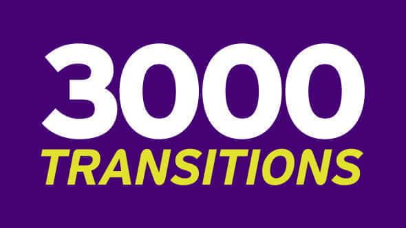 视频素材:3000个多类型遮罩蒙板转场过渡动画 Transition Mattes Mega Pack
