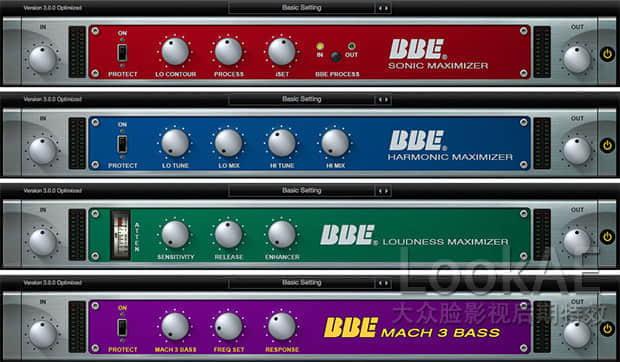 Mac苹果版:经典人声激励器音频处理插件 BBE Sound Sonic Sweet Optimized v3.2.1