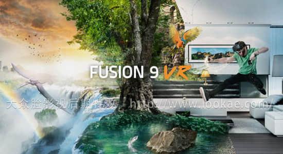 影视后期特效合成软件 Blackmagic Design Fusion Studio v9.0 + AVX插件接口