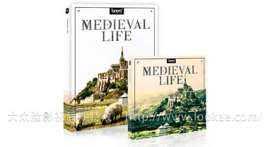 音效素材:中世纪生活场景环境音效 Boom Library – Medieval Life Designed WAV