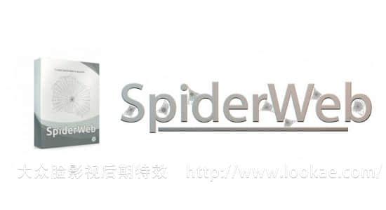 C4D插件:蜘蛛网制作插件 SpiderWeb 1.2 for Cinema 4D + 使用教程
