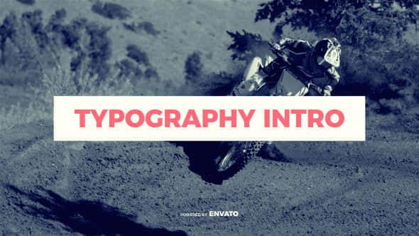 Typography Intro