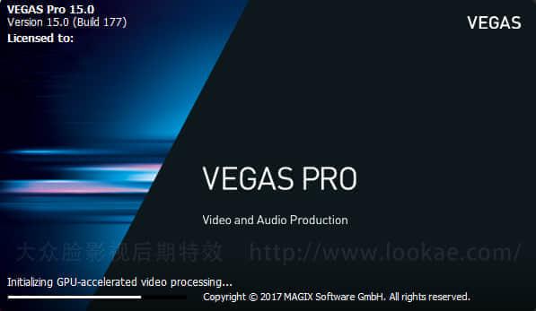专业非编视频剪辑软件 MAGIX VEGAS Pro 15.0.0.361 中文注册破解版