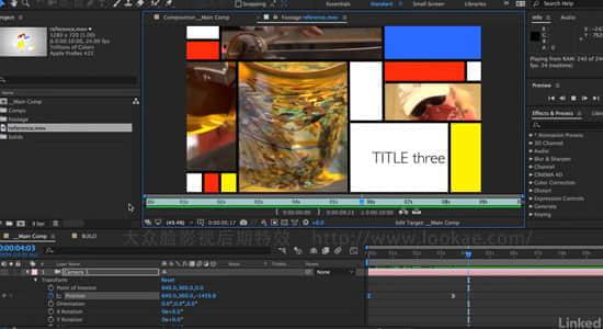 AE CC 2018 特效合成基础教程(英文字幕) Lynda – After Effects CC 2018: Editors and Post Essential Training