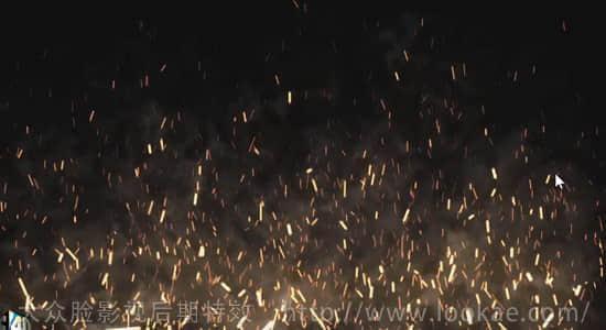 AE教程: 使用 Particular 插件制作飞舞的火星烟雾粒子动画