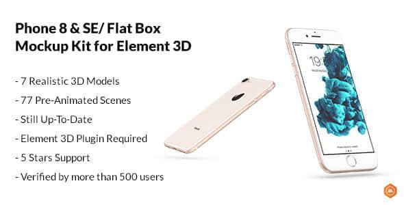 Flat Box - Mockup Kit