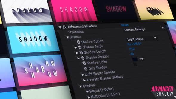 AE预设:高级长投影效果 Advanced Shadow