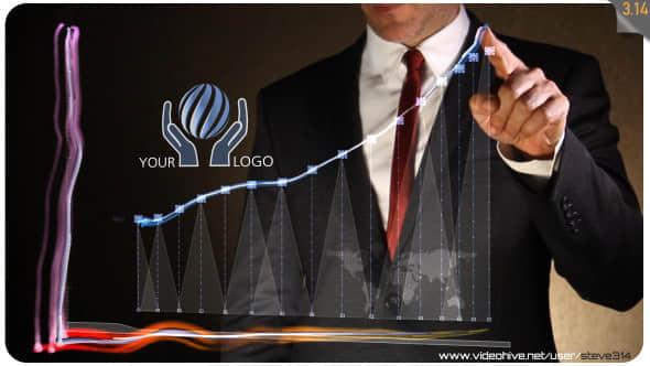 Business Chart - Logo Intro